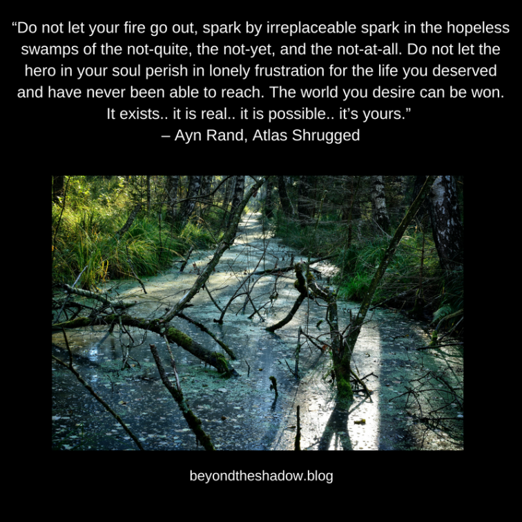 """Do not let your fire go out, spark by irreplaceable spark in the hopeless swamps of the not-quite, t"