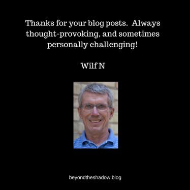Wilf N testimonial